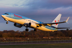 G-TAWP MAN 291215_IMG_0266-a (Tony.Woof) Tags: man sunrise manchester thomson boeing 737 egcc gtawp