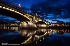 Margit híd (Margaret Bridge) (-REcallable-Memories-of-ET-) Tags: 2015 budapest eszetamás hungary nikon places tél winter d5200 margit margithíd bridge night margaretbridge margarethenbrücke brücke híd pest buda europe et