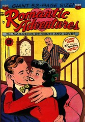 Romantic Adventures 19 (Michael Vance1) Tags: woman man art love comics artist marriage romance lovers dating comicbooks relationships cartoonist anthology silverage