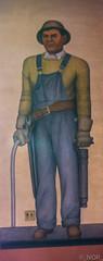 Ironworker (_ Ivor_) Tags: sanfrancisco california art mural tokina coittower fresco califonia pwap cliffordwright d7200 nikond7200 tokina1120 tokina110200mmf28