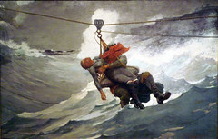 Homer, The Life Line, 1884