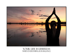 Today is Limitless Yoga meditation lakeside (sugarbellaleah) Tags: sunset people woman lake nature water beautiful silhouette yoga female reflections pose landscape quiet peace arms adult prayer lifestyle calm lakeside serenity environment balance relaxation innerpeace position chakra soothing affirmation secluded wellbeing rejuvenation anjalimudra palmstogether