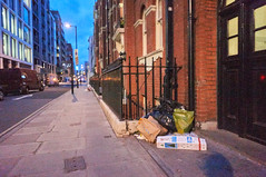 20160205-17-13-40-DSC03739 (fitzrovialitter) Tags: street england urban london westminster trash geotagged garbage fitzrovia none unitedkingdom camden soho streetphotography documentary litter bloomsbury rubbish environment mayfair westend flytipping dumping cityoflondon marylebone captureone gpicsync peterfoster fitzrovialitter followthisroute