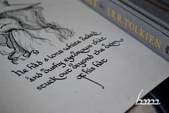 Gandalf the Grey (Iceman_ic400) Tags: gandalf lordoftherings calligraphy hobbit tolkien middleearth jrrt mechkivskiy