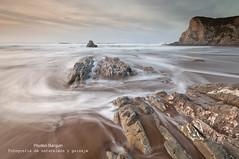 Sedas (Pruden Barquin) Tags: longexposure costa naturaleza seascape landscape coast nikon playa paisaje arena fotografia largaexposicion marcantabrico prudenbarquin seacatabrian