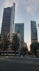 Reforma's Three (SmartFireCat) Tags: city tower mxico architecture skyscraper mexico three avenida torre mayor towers ciudad mexican tres bbva avenue reforma torres chapultepec rascacielo bancomer cdmx