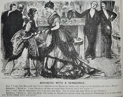Aesthetic with a Vengeance! - Punch 1873 (AndyBrii) Tags: woodcuts satire punch wit engravings 1873