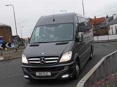 V111 TLC (Cammies Transport Photography) Tags: road england bus st mercedes benz scotland coach edinburgh rugby v v111 johns specials tlc unmarked unvi v111tlc