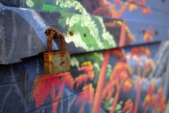 Lock and Color (Rich Renomeron) Tags: bethanybeach lumixg20mmf17asph olympusomdem10