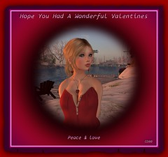 A Belated Valentine's Card For You (CallieDel Boa- in and out...) Tags: love peace valentine card blonde valentinescard