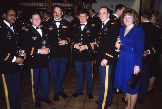 West Germany   -   HerbornSeelbach   -   Aartal Kaserne   -   OHG   -   557th USAAG   -   Our New Year's Reception  -   January 1989