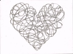 26, jan. (Joseph Surface) Tags: art pencil hearts valentines drawingaday playford