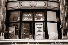 Vintage Guitar, Angel Music, Denmark Street, London