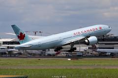 C-FIUF B777-233(LR) YSSY (Seat 67A) Tags: boeing takeoff sydneyairport aircanada planespotting b777 staralliance b772 avgeek