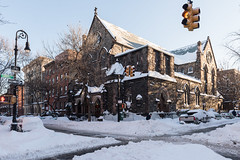 Brooklyn Street Scenes - The Morning After the Blizzard - Carroll Gardens and Cobble Hill (Steven Pisano) Tags: snow newyork storm brooklyn cobblehill blizzard carrollgardens