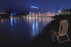 Sightseeing [27] (yegor454) Tags: ocean city travel canada mountains color tourism beach water beautiful beauty horizontal architecture night vancouver digital skyscraper 35mm canon dark sand long exposure nightscape bright sigma columbia british
