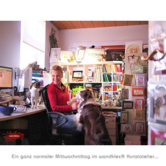 AtelierMi (wandklex Ingrid Heuser freischaffende Künstlerin) Tags: hund etsy etsyshop dawanda auftragsmalerei wandklex wandkleks wandklecks etsyresolution2016 etsyresolutionde