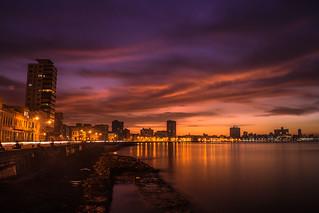 Burning Malecón