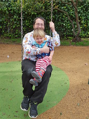 Swinging (quinn.anya) Tags: andy toddler sam father swing totland