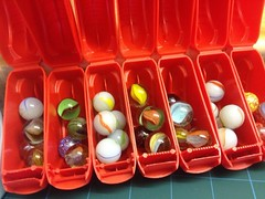 image (Jumble Tumble) Tags: toys pots marbles upcycled