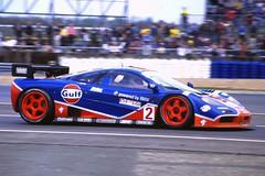 McLaren F1 GT  Gulf  BRP Series 1996 Silverstone GHGT DSC00054 (Gary Harman) Tags: gary harman garyharman gh gh4 gh5 gh6 bpr gt race cars 1996 mclaren f1 nikon 90 90s legends endurance pro photo pic car