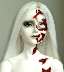 Dikadoll Galois Zombie (ok2la) Tags: white dead death blood doll skin zombie 5 sean crop dk bjd bloody ws dika galois dikadoll img2016020903298
