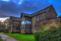 Smithills Hall (Thanks For Your Kind Support) Tags: bridge england architecture canon northwest britain medieval lancashire bolton historical 1855mm hdr gradeilistedbuilding kevinwalker smithillshall canon1100d
