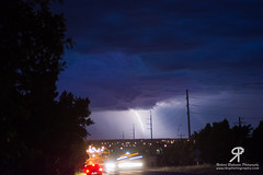 Lightning over Dubbo 1 (Rikardo daVinci) Tags: sky storm weather clouds country places nsw newsouthwales lightning dubbo