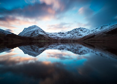 Buttermere reflection LE (alf.branch) Tags: longexposure lake reflection water sunrise landscape dusk lakes lakedistrict olympus cumbria zuiko buttermere lakesdistrict refelections calmwater westcumbria westernlakes cumbrialakedistrict olympusomdem5mkii ziuko918mmf4056ed