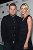 SANTA MONICA, CA - FEBRUARY 25: Actor James Corden (L) and producer Julia Carey attend the Oscar Wilde Awards at Bad Robot on February 25, 2016 in Santa Monica, California. (Photo by Alberto E. Rodriguez/Getty Images for US