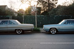 San Pablo (Nicholas_Luvaul) Tags: show california ca west cars film analog oakland bay coast san fuji kodak side pablo s 400 area emeryville portra klasse 2016
