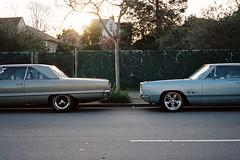 San Pablo (Nicholas_Luvaul) Tags: show california ca west cars film analog oakland bay coast san fuji kodak side pablo s 400 area emeryville portra klasse 2016