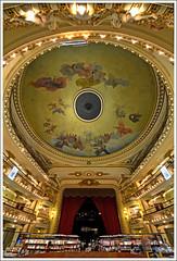 Librera El Ateneo (Totugj) Tags: argentina arquitectura buenosaires nikon sigma el ceiling ateneo librera cpula cielorraso 816mm d5100