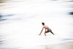 Preying Surfer (Envios) Tags: sunset surf maui boogieboard kaanapalibeach mauilife