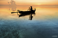 Bali Sunrise (Ed Kruger) Tags: ocean travel blue sea sky bali sun seascape water clouds sunrise indonesia island boat fishing fisherman asia southeastasia asians cloudy january wave sunny copyrights fishingboat allrightsreserved fishingnet skyphoto 2016 travelphotography peopleofasia asiancities edkruger asiancountries photosofasia abaconda qfse kirillkruger rodkruger millakruger
