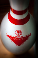 (084/366) The House's Bowling Pin (CarusoPhoto) Tags: light macro window canon project john is photo cool pin day natural mark kitsch bowl odd tournament ii bowling amf 5d 365 usm everyday caruso mundane banal ordinary 366 f28l ef100mm anniersary carusophoto ef100mmf28lmacroisusm