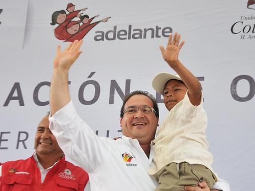 El gobernador, Javier Duarte de Ochoa, conmemora dos años del programa Adelante