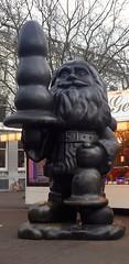 Bad Santa with a Plug  Eendrachtsplein Rotterdam (thomaslion1208) Tags: rotterdamhollandniederlande santaclaus buttplug anal weihnachten