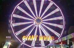 Giant Wheel (Michael VH) Tags: film wheel giant 1 exposure minolta superia taken second srt101 400iso rokkor 320iso 55mmf17
