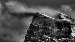 Rundle is Angry (JA Photography - Be There, Out There) Tags: canada alberta mountrundle banffnationalpark