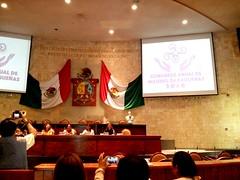 SE SIDNNA presente en el Congreso Anual de Mujeres Oaxaqueñas 2016, que se realiza en el Congreso del Estado. #SIDNNA #Oaxaca