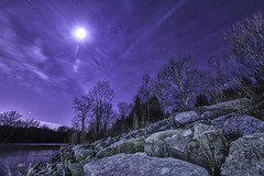 Washed up in beauty (legaryphotography) Tags: longexposure trees wild sky moon ontario canada london nature water beauty night river stars outside outdoors photography rocks stream skies wildlife shoreline sigma nighttime shore geology wilderness hdr nkion skie