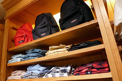 @Beams (domit) Tags: japan tokyo shibuya bags beams eastpak