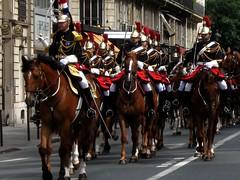 Paris, Garde Rpublicaine (olivier.lours) Tags: street paris rue chevaux garderpublicaine