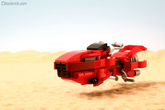 Speeder (kosbrick) Tags: dessert lego speeder moc npu paintroller ironbuilder