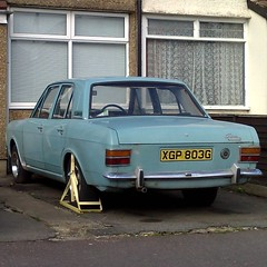 (uk_senator) Tags: blue ford 1969 cortina mk2
