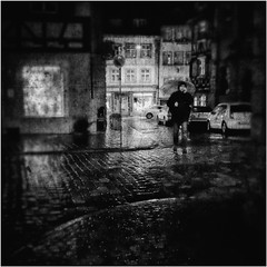 rainy night V (harrykramer611) Tags: city urban rain night lights mood bamberg umbrela