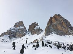 Saslong (My Italian Sketchbook) Tags: italy mountains italia dolomites dolomiti altoadige  sassolungo saslong cinquedita
