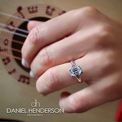 Sweet Music (dhjewellers) Tags: scotland edinburgh diamond proposal platinum weddingplanning threestone edinburghjewellers edinburghproposal