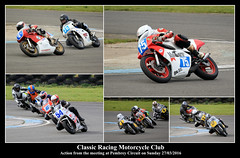 CRMC Meeting at Pembrey (JDPhotography -) Tags: collage collages motorcycles motorcycleracing johndavies canonef100400mmf4556lisusm crmc classicracingmotorcycleclub jdphotography picasa3 pembreyracetrack copyrightjohndavies barcpembrey pembreycircuit canoneos7dmark11
